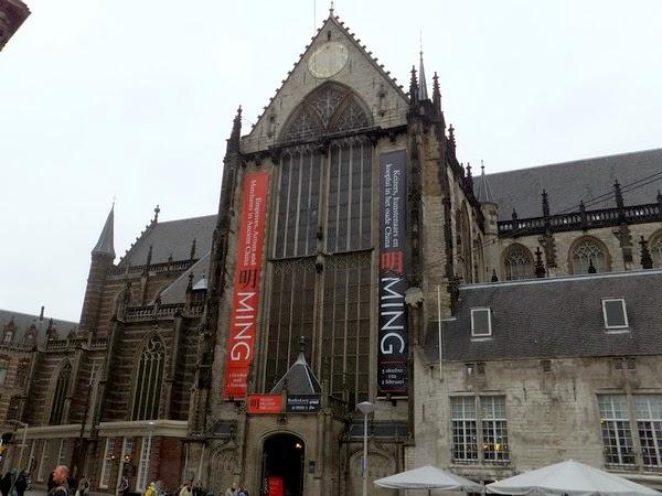 amsterdam centre médiéval nieuwe kerk