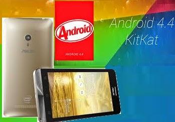 Inilah Cara Update Asus Zenfone 5 ke Kitkat 4.4 - FileArchive4u