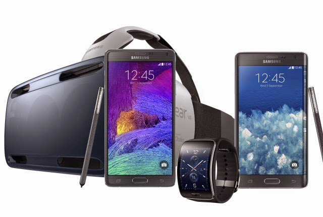 Samsung Introduces Galaxy Note 4, Galaxy Edge, Gear VR