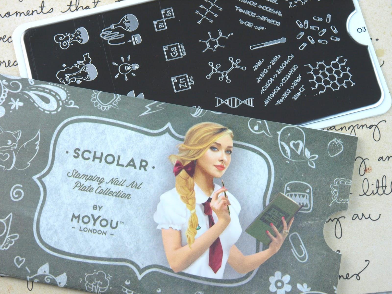 moyou london scholar plates