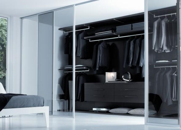 Decoracion de interiores dormitorios habitaciones con - Armarios de habitacion ...