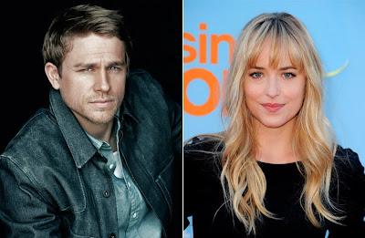Dakota Johnson y Charlie Hunnam serán Anastasia y Christian en 'Cincuenta sombras de Grey'