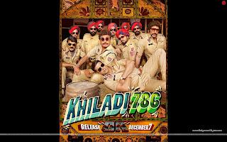Khiladi 786  Wallpaper Starring Akshay Kumar, Raj Babbar, Gurpreet Guggi Police Officers