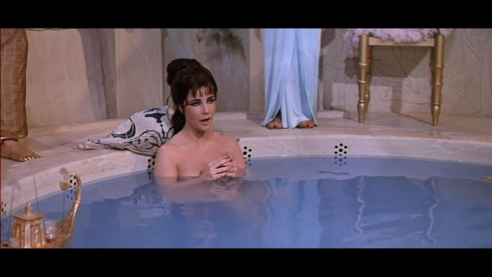 Cleopatra bathing