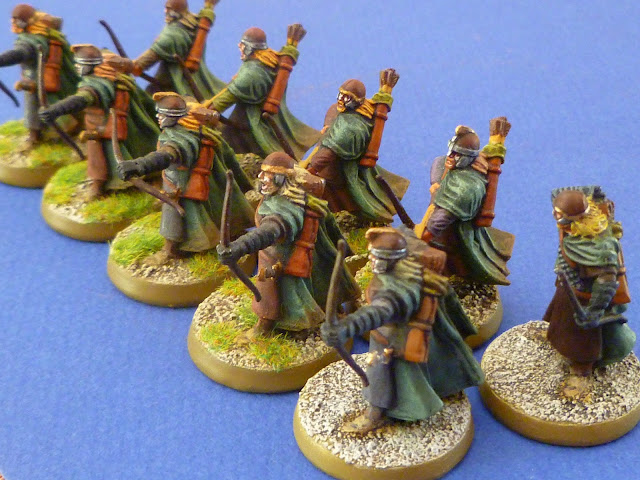 Ligne d'archers