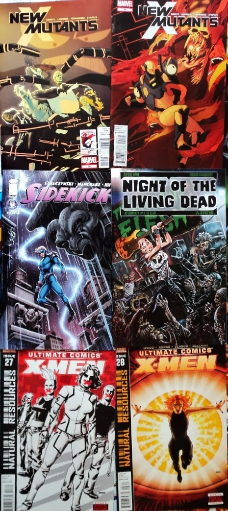 October comic books / cómics de octubre
