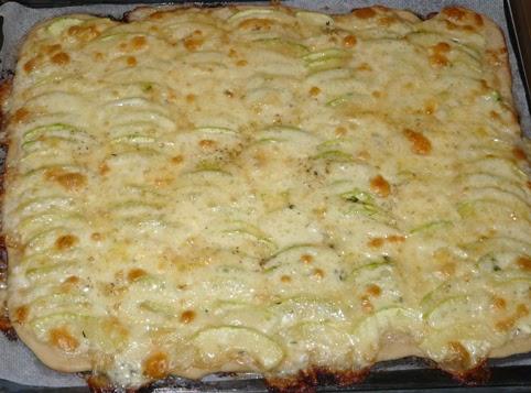 Carnet de voyages en gourmandise une pizza avec les - Comment congeler les courgettes du jardin ...
