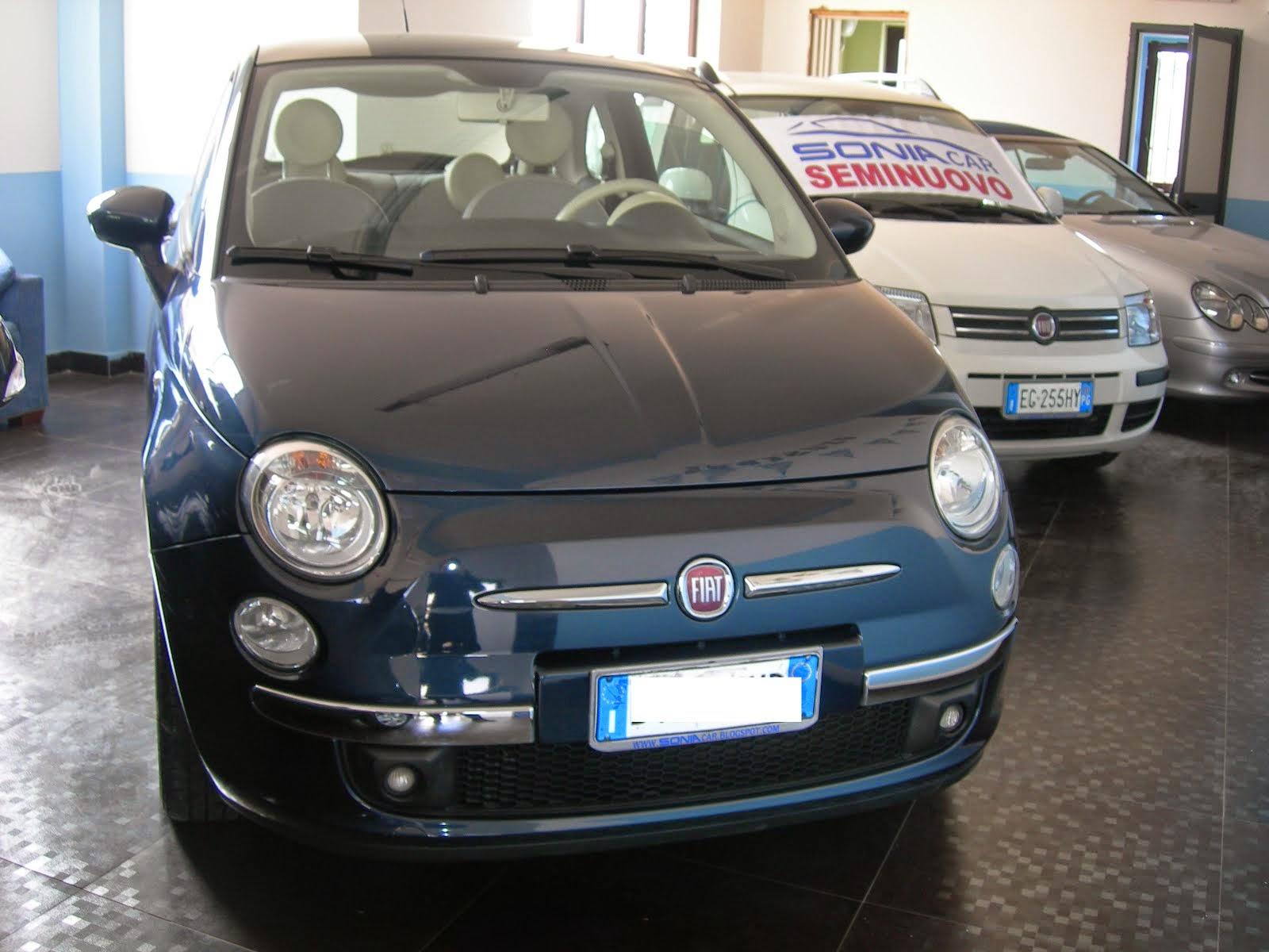 Fiat 500 1.2 Lounge Tetto Panoramico e altri accessori 60.000 km Unico Prop.