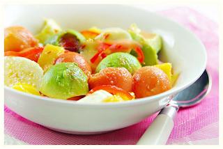 Món ăn ngon: Hoa quả dầm tròn vo như kem