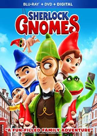 Poster Of Hollywood Film Watch Online Sherlock Gnomes 2018 Full Movie Download Free Watch Online 300MB