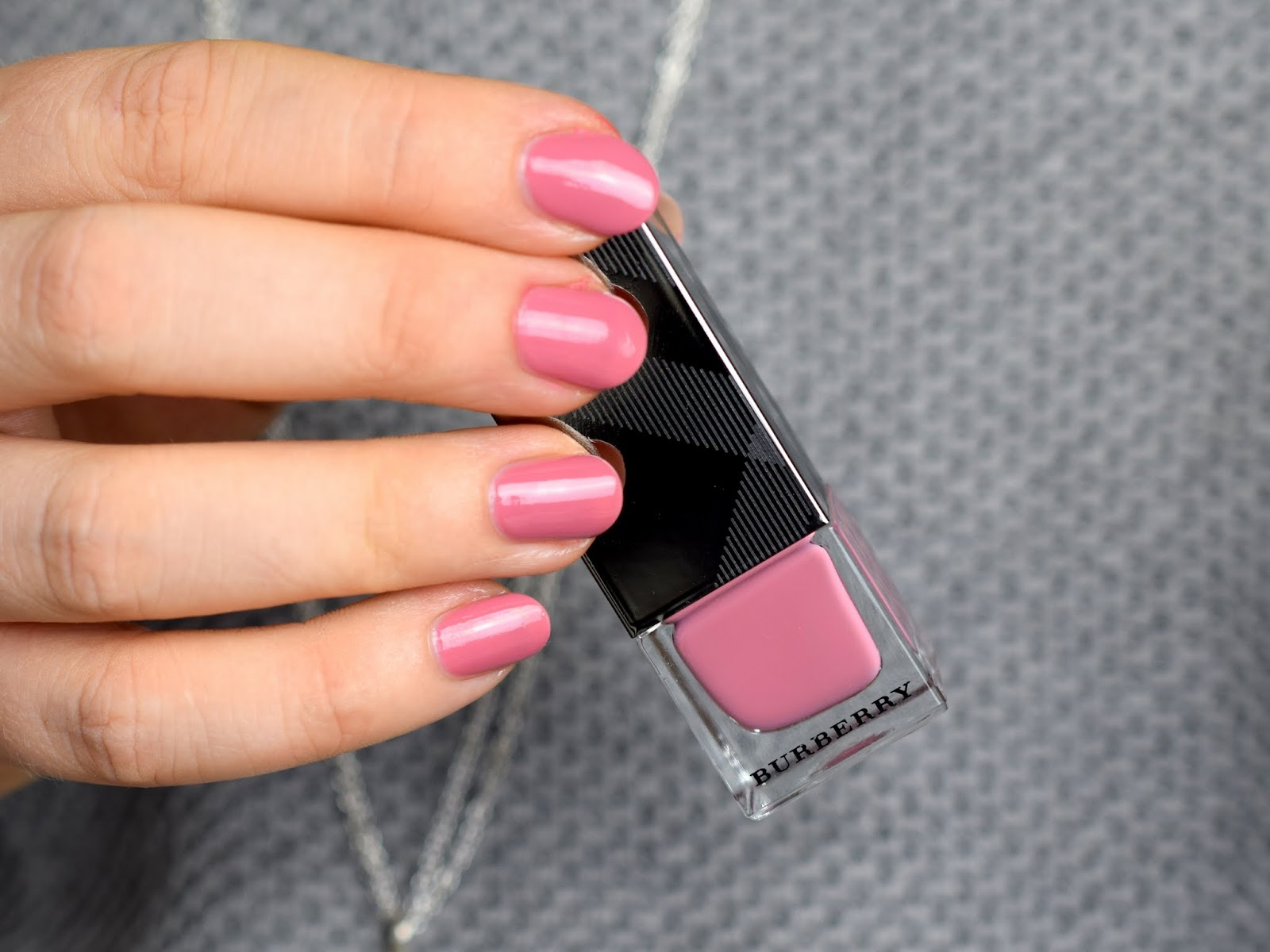 Burberry Spring / Summer 2015 - Nail Polish Hydrangea Pink