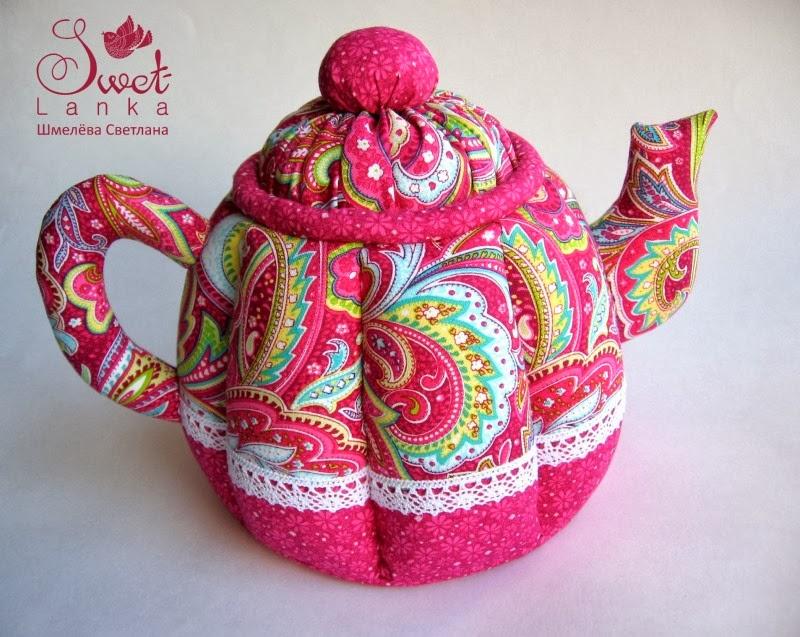 малиновый чайник