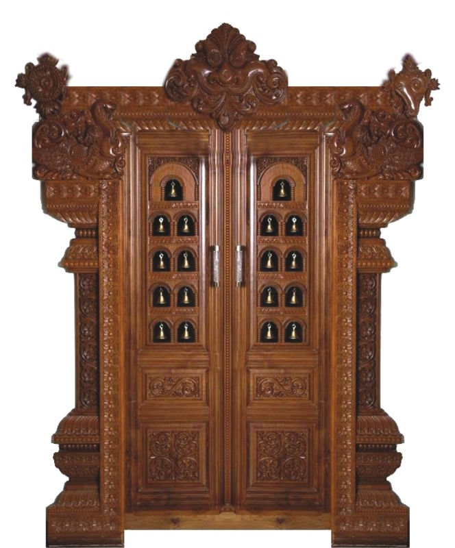 Aachi woods works wooden doors farnichar online catalog for Farnichar door