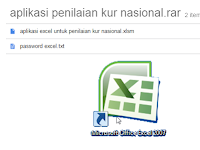Aplikasi Penilaian Kurikulum Nasional Hasil Modifikasi Excel Berkas Sekolah