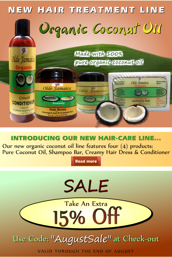 http://www.oldejamaica.com/coconut-oil-hair-treatment-line.html