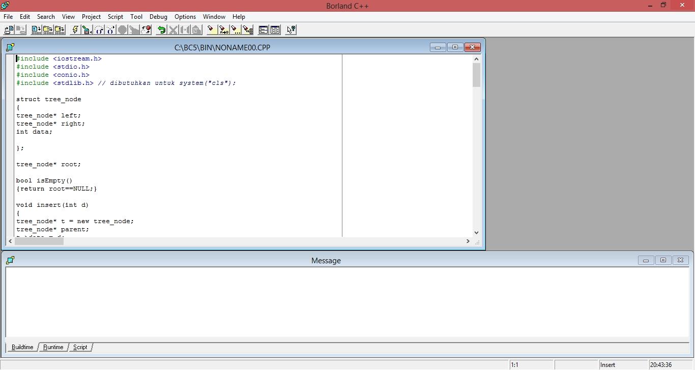 Borland c 5.02 for windows 7 64 bit