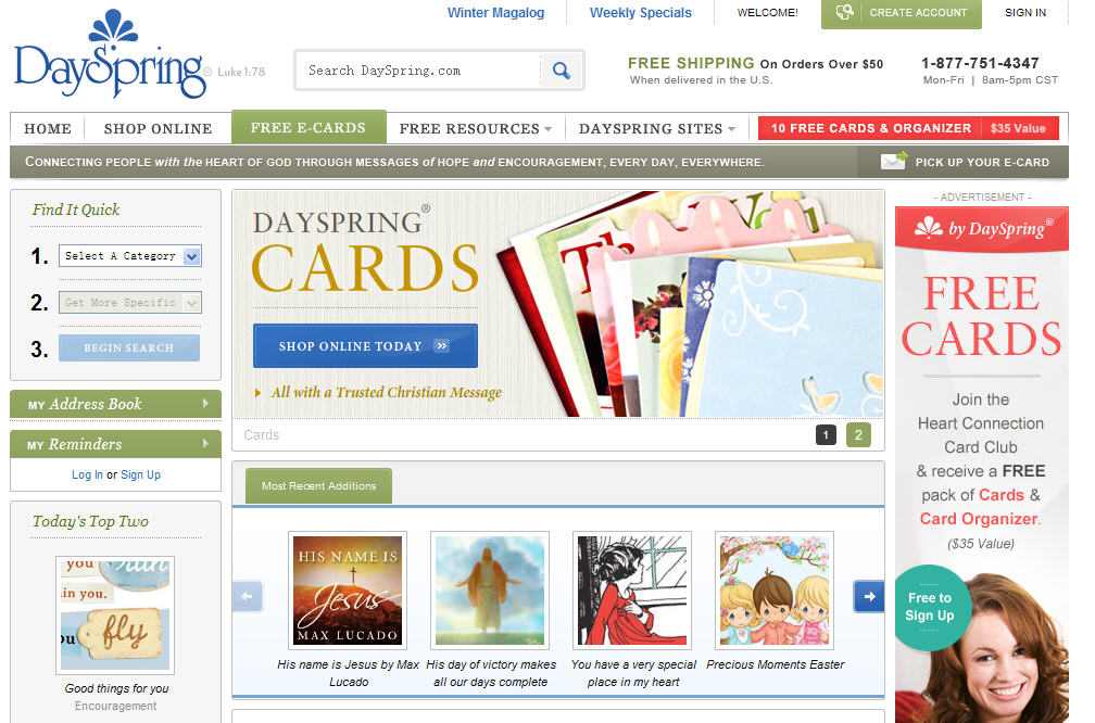 Top 10 Online ECards and Flash Cards Websites | Free ...