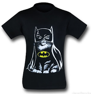 Purchase your Batcat t-shirt at SuperHeroStuff!