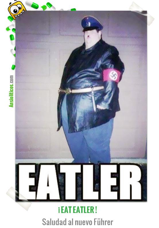 Chiste de Nazis Eatler, el nuevo Führer