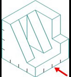 Figura 28: Sistema diédrico - obtención de vistas