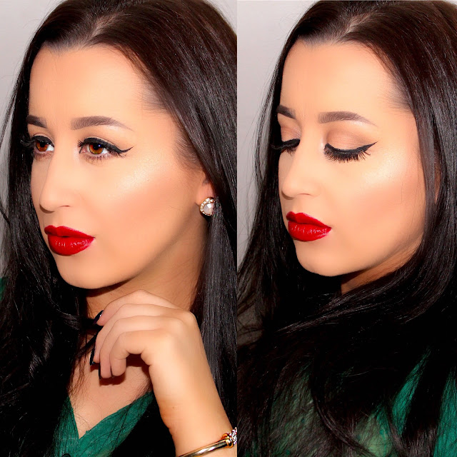Classic Holiday Vintage Makeup Tutorial