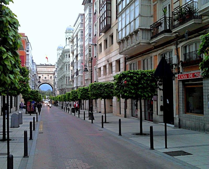 Calle del Martillo en Santander