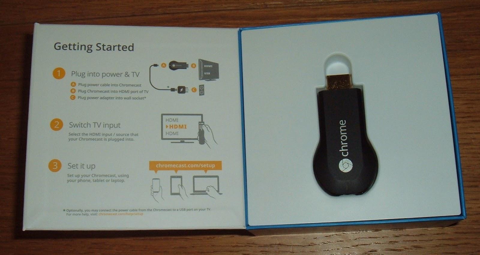 Tynemouth Software Google Chromecast Review