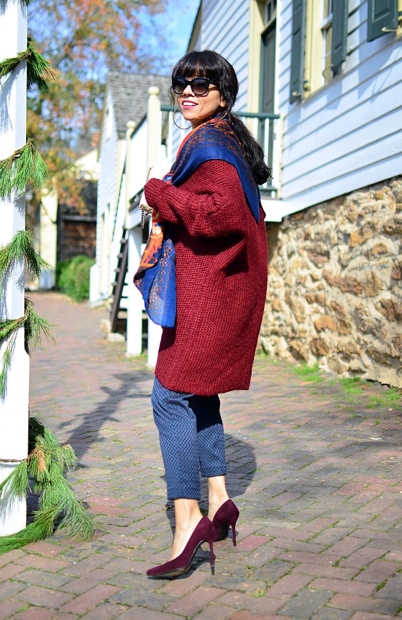 Sweater dress street style