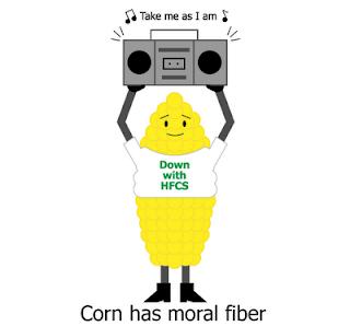 Corn has moral fiber