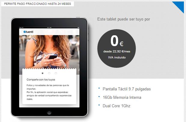 iPad 2 Tuenti Móvil