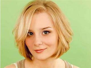 model gaya rambut pendek wanita wajah bulat quick bob haircut
