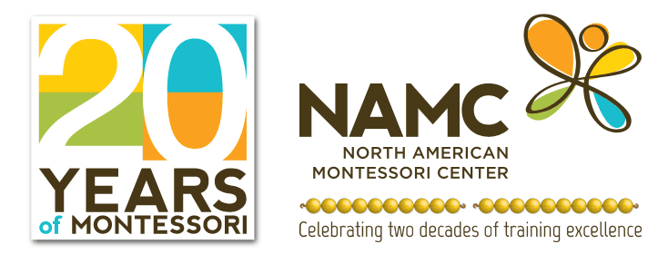 NAMC Montessori Twenty Years Logo