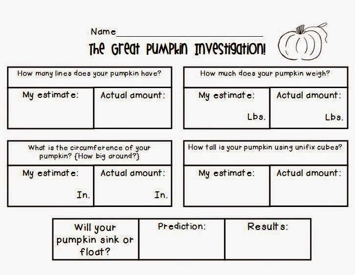 http://www.teacherspayteachers.com/Product/Pumpkin-Investigation-Fun-360046