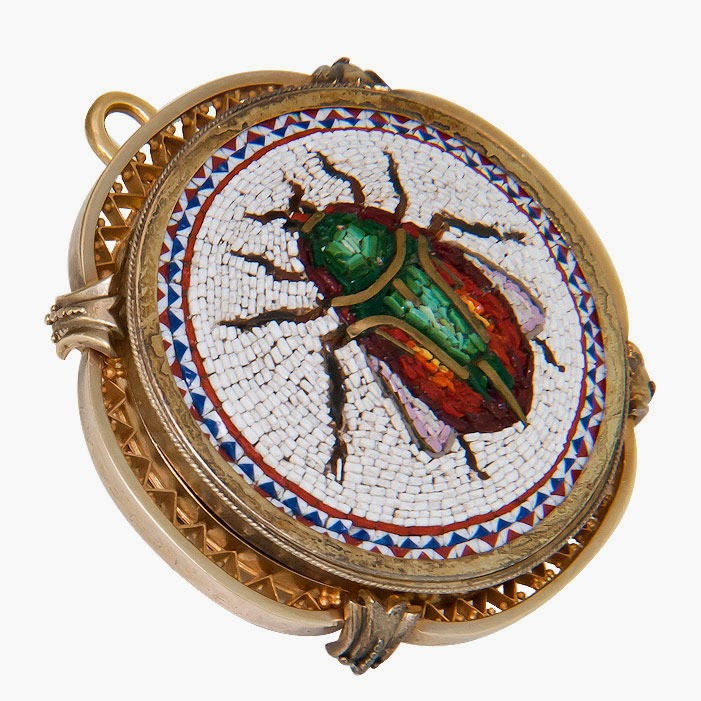 Inspired Antiquity: Micro-Mosaics: Putting the Pieces Together