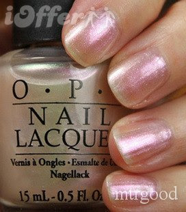 Opi Fingernail Polish Colors Chart