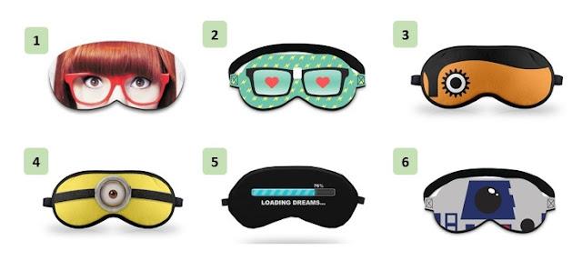 Máscaras de dormir, GorilaClube, Máscaras, Acessórios, divulgação, Pensamentos Valem Ouro,