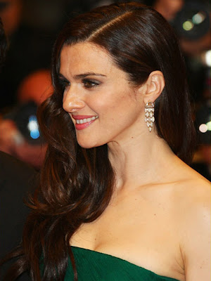Rachel Weisz Diamomd Earrings