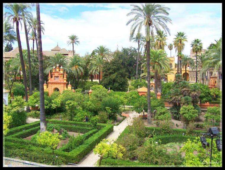 Los mejores top 10 mejores jardines de espa a - Jardines verticales sevilla ...