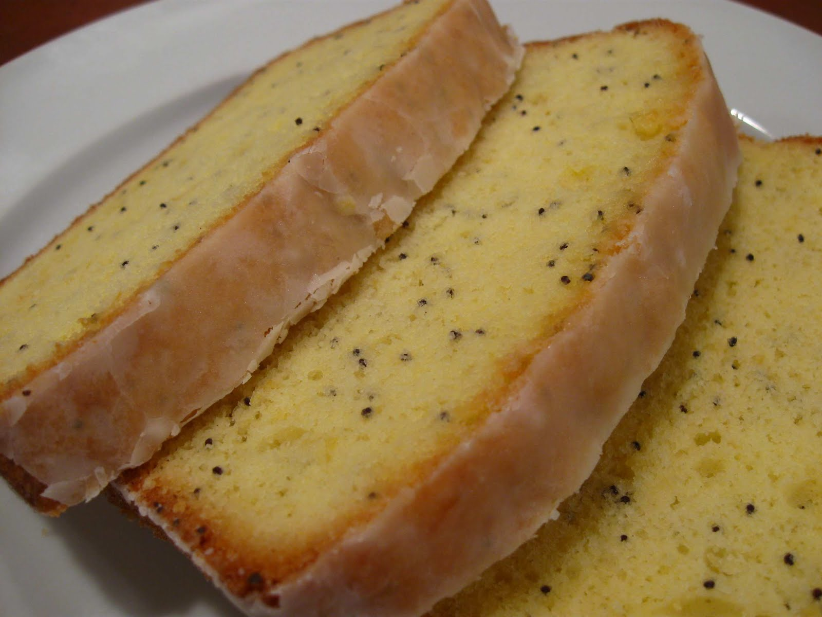 Cooking From Scratch: Lemon Poppy Seed Pound Cake