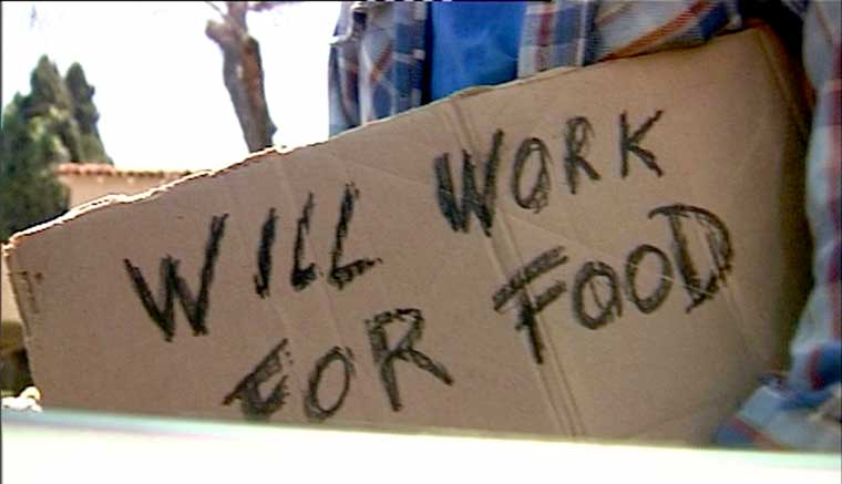 have kids will work for food
