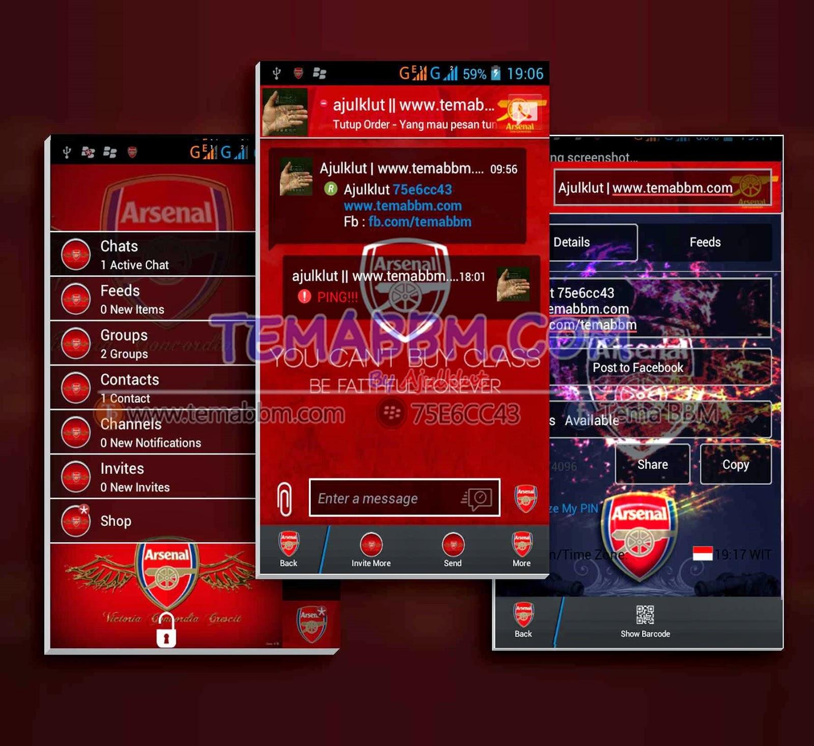 Tema BBM Arsenal