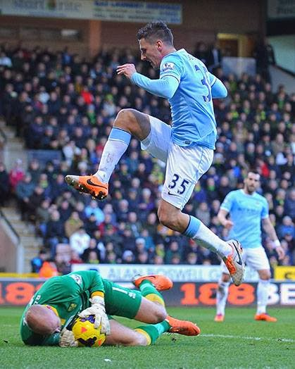 Hasil Liga Inggris, Pekan 25, Man.City