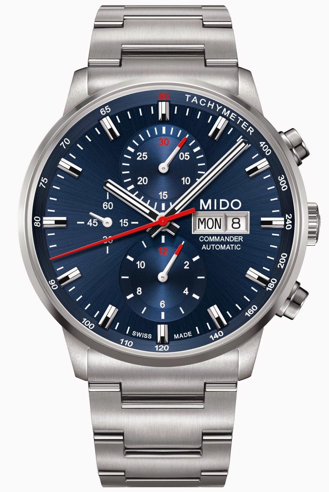 Mido - [News] Mido Multifort 80 Mido%2BCommander%2BChronograph%2BCaliber%2B60%2B%2B-2