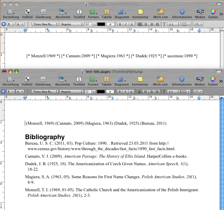 Dissertation bibliography websites