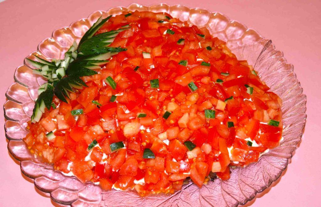 Новые оригинальные рецепты салатов с фото