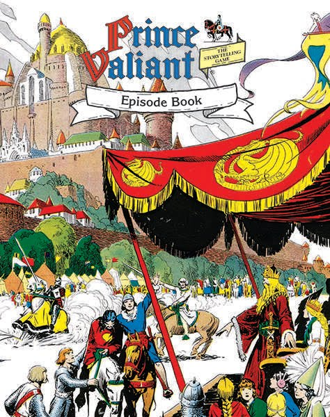 Prince Valiant Episodes Book