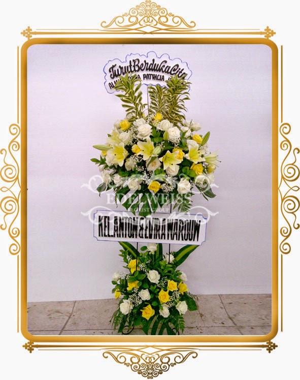 bunga standing ucapan untuk orang meninggal