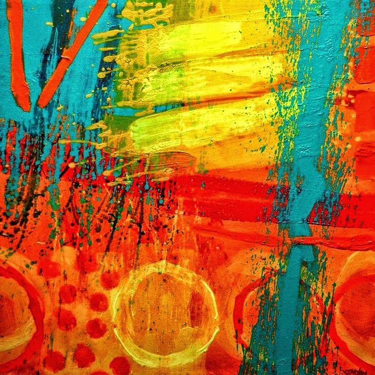 Im genes arte pinturas cuadros abstractos espatulados - Fotos cuadros abstractos ...