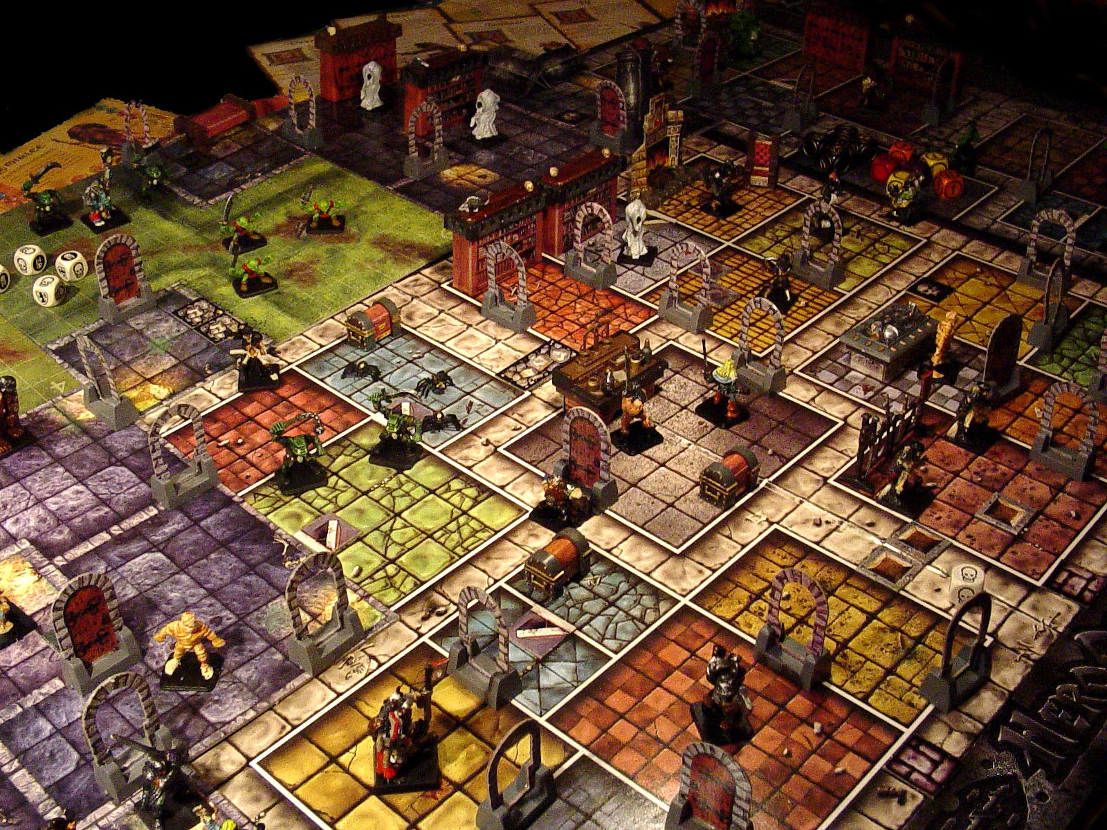 play heroquest online
