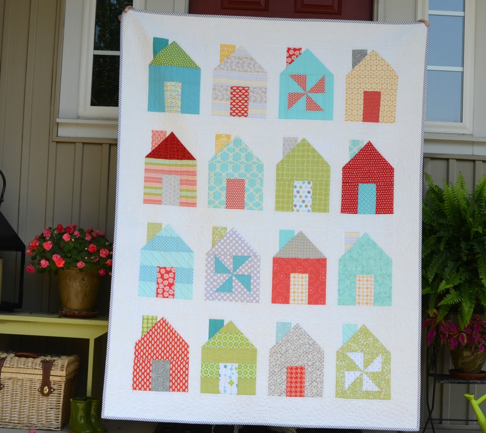 Hyacinth Quilt Designs: Dwell... a quilt from Simply Retro : retro quilts - Adamdwight.com